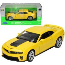 Welly Samochód Chevrolet Camaro ZLI, żółty