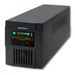 Qoltec Zasilacz awaryjny UPS MONOLITH   1200VA   720W   LCD   USB