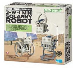 4m Mini solarny robot 3-w-1