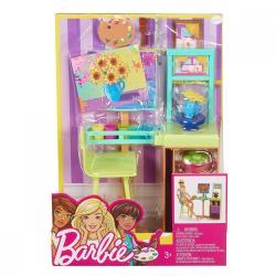 Mattel Barbie Studio sztuki zestaw