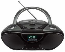Blaupunkt Przenośny radioodtwarzacz BB14 BK CD MP3 USB AUX FM PLL
