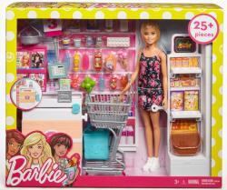 Mattel Lalka Barbie + supermarket