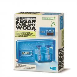 4m Zestaw naukowy Zegar zasilany wodą