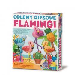 4m Zestaw kreatywny Odlewy Gipsowe - Flaming