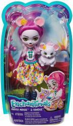 Mattel Lalka Enchantimals Mayla Mouse + Fondue