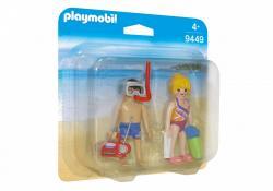 Playmobil Figurki Duo Pack Plażowicze