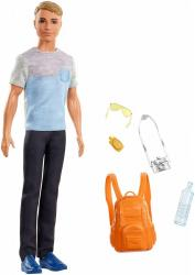 Mattel Lalka Barbie Dreamhouse Adventures Ken w podróży