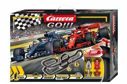 Carrera Tor wyścigowy GO!!! No Limits 8,9m