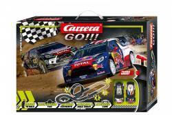 Carrera Tor wyścigowy GO!!! Super Rally 4,9m