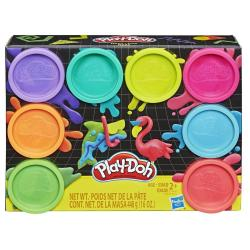 Hasbro Masa plastyczna PlayDoh 8-pak kolorów Neon
