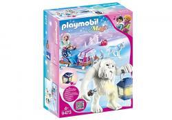 Playmobil Zestaw figurek Zimowy troll z sankami