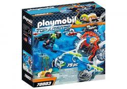Playmobil Klocki Spy Team Łódź podwodna