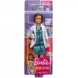 Mattel Lalka Barbie Kariera Weterynarz