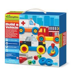 4m Zestaw konstrukcyjny Zbuduj pojazd