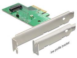 Delock karta PCI Express x4 - 1x NVMe M2 low profile