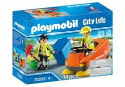 Playmobil Zamiatarka uliczna