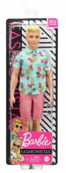 Mattel Lalka Barbie Stylowy Ken Koszula w ananasy