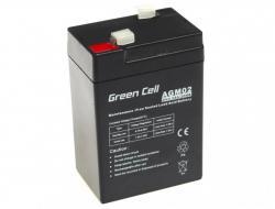 Green Cell Akumulator żelowy 6V 4.5Ah