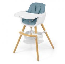 Milly Mally Krzesełko do karmienia 2w1 Espoo Blue