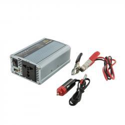 Whitenergy Przetwornica AC/DC 350W 12V/230V z USB 06579
