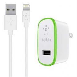 Belkin Ładowarka sieciowa USB-A 12W kabel 1,2m USB-A/Lightning biała