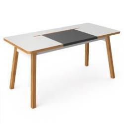 BlueLounge StudioDesk biurko XL 150cm schowek na kable - nowa rewizja