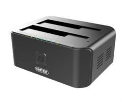 Unitek Stacja dokująca USB 3.0-SATA III; CLONE; DUAL HDD/SSD; Y-3032