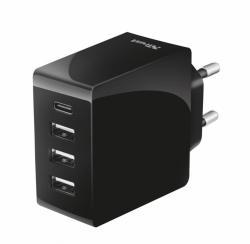 Trust 24W Ładowarka 4 USB-C & USB-A ports