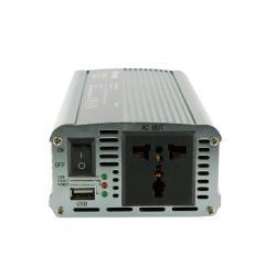 Whitenergy Przetwornica samochodowa 800/1600W 12V(DC) - 230V(AC) z portem USB