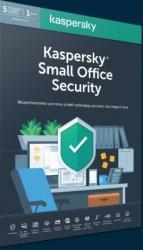 Kaspersky *Kaspersky Small Office Security 5 stacji + 1 Serwer 1 rok