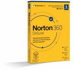 Norton *Norton 360 DELUX 50GB PL 1U 5Dvc 1Y 21408667