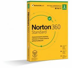 Norton *Norton 360 STANDARD 10GB PL 1U 1Dvc 1Y 21408666
