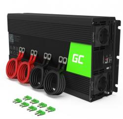 Green Cell Przetwornica 12V/230V 2000W/4000W Mod sinus