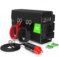Green Cell Przetwornica 24V/230V 500W/1000W Czysty sinus
