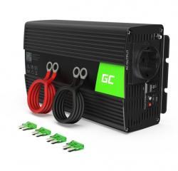 Green Cell Przetwornica 24V/230V 1000W/2000W Czysty sinus