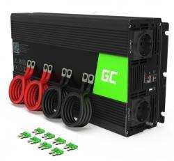 Green Cell Przetwornica 24V/230V 2000W/4000W Czysty sinus