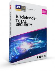 Bitdefender *BitDefender TOTAL SecMD 5St. 2Lata BDTS-N-2Y-5D