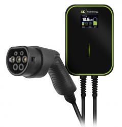 Green Cell Ładowarka Wallbox EV PowerBox 22kW z kablem Type 2 do ładowania samochodów elektrycznych i hybryd Plug-In
