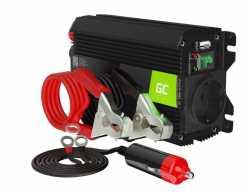 Green Cell Przetwornica napięcia Inwerter 24V 300W/600W
