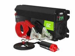 Green Cell Przetwornica napięcia Inwerter 24V 500W/1000W
