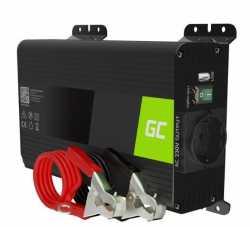 Green Cell Przetwornica napięcia Inwerter 12V 300W/600W