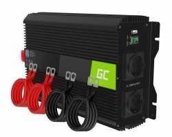 Green Cell Przetwornica napięcia Inwerter 12V 2000W/4000W