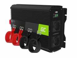 Green Cell Przetwornica napięcia Inwerter 12V 3000W/6000W
